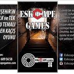 Kaçış oyunu sadece Eskişehir de! RTleyen 1 üniversiteliye oyun hediye! http://t.co/TFH56NS5IU