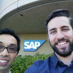 Selfie! Were in Silicon Valley working with @SAP on a wearable technology solution for #mining. #iiot #wearables http://t.co/Mv37Oplzhm