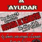 Ayudanos a ayudar. Recogida de alimentos en la puerta 15 el domingo 24 (Sporting-Tenerife) de 16:00 a 18:00. http://t.co/YZjpGOmOYB