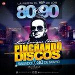 via @lchourio: El próximo sábado en @xprestigieux el.V.I.P de los 80&90 para más información 04143512633 http://t.co/C2ZukkIhAe #Maracaibo