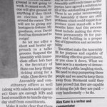 This is from the @BelTel last October. It remains my view today re latest Assembly debacle. http://t.co/i9Ok91mp5Q