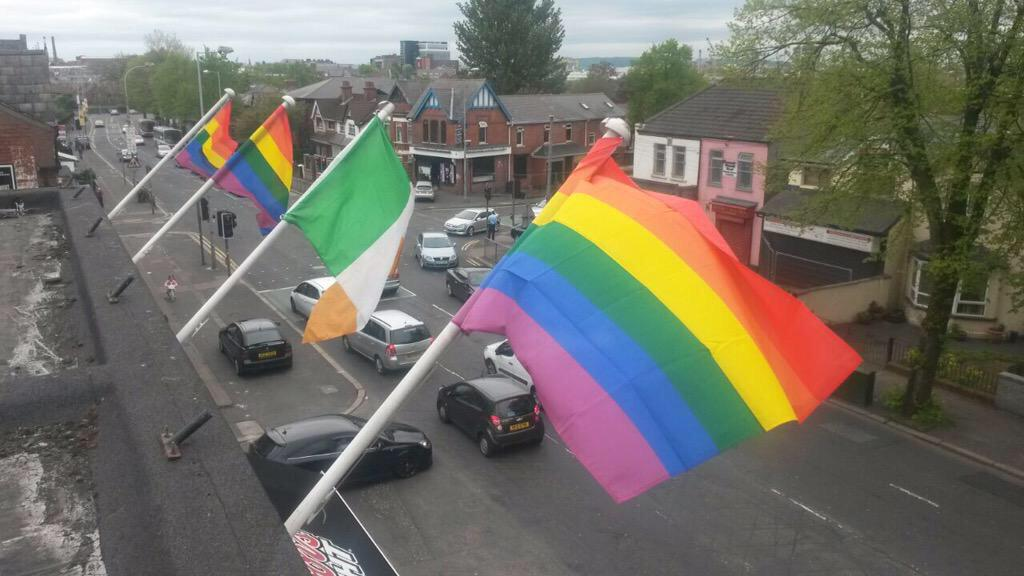 Ireland's flying it's flags today ❤️