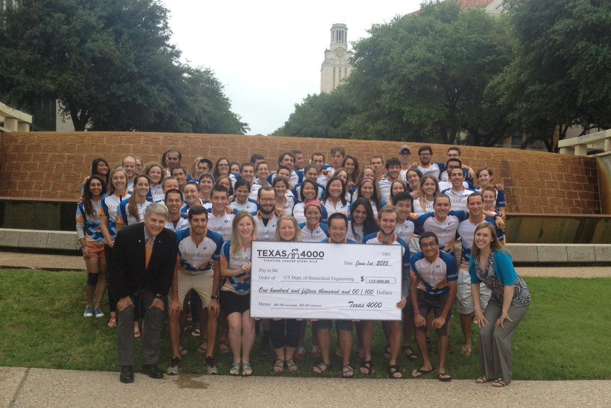 Yesterday we presented @UTBiomedical w/check 4 $115K to support their research from funds raised last yr by #T4K2014! http://t.co/lTuxTfxXdO