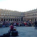 @GanemoSala llena la #PlazaMayor de #Salamanca en el último día de campaña http://t.co/KuBjQeoUUI