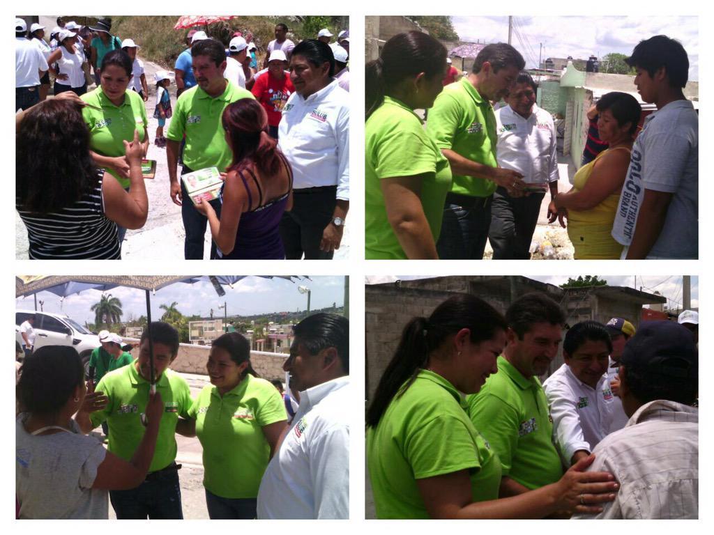 Muchas gracias a los vecinos de la Col. Esperanza por recibirnos @Edgarr_Hdez @MiguelSulub #JuntosPorEl3 http://t.co/1yHJsZJtD0