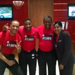 #TruetoAtlanta. Our staff is wearing red and rooting for an @ATLHawks W tonight. GO HAWKS! http://t.co/aoIxjP8RSL