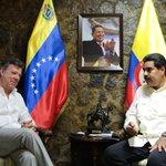 .@NicolasMaduro a Santos: Cuente conmigo y con Venezuela para lograr la paz en Colombia http://t.co/mEnbS9qvsR http://t.co/TRvqUMyK6n