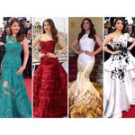 Which is your favorite Aishwarya Rai Bachchan's look from Cannes 2015? a. 1 b. 2 c. 3 d. 4