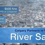 Don't drown out river safety information. Follow these precautions - http://t.co/8znt4gLbfa #yyc #Calgary http://t.co/22C2qdONne