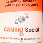 """""""La gran renovación Valledupar incluyente con un verdadero cambio social"""" @AndresArturoF http://t.co/6On9c5W9Vx"""