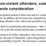 . @GovJayNixon has commuted #JeffMizanskeys sentence to make him eligible for parole. http://t.co/Gj3KmsGVpt
