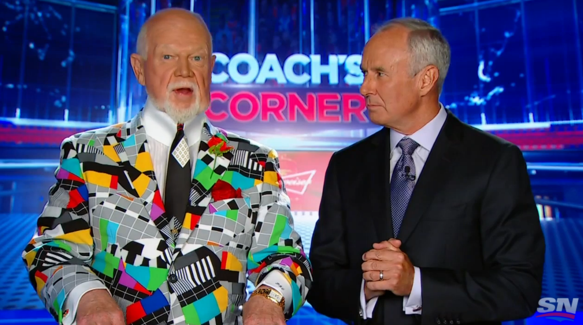 To Put It Indelicately, Don Cherry Is Going Ga-ga Over Mike Babcock (video)
