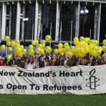 Beautiful day in Wellington. Our members want to see NZ #RaiseTheQuota and help solve the #refugeecrisis now! http://t.co/9ier3QPlCh