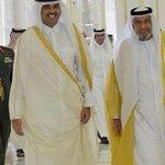 """مغردون قطريون بعد """"قرار الإفراج"""": شكراً خليفة بن زايد http://t.co/OqyyRqPjAf #الإمارات_تعفو_عن_الجيدة_والحمادي http://t.co/02Ot2433MJ"""