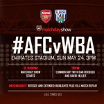 Watch the #AFCvWBA Matchday Show for live coverage of @Arsenal's post-game lap of appreciation http://t.co/co1v55ZYqi http://t.co/1kKbH8d1sp