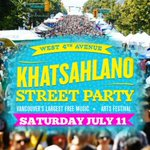 #Vancouvers largest street party and arts festival @khatsahlano is back this summer! http://t.co/lFzcnl85y7 http://t.co/mLzUik463z