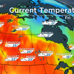 #Prairies hogging all of the heat in #Canada today! :) #sask #CityMJ #CitySC #YQR http://t.co/dztziQAGjG