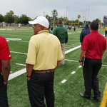 Coaches from #Miami #Louisville #Auburn #Arkansas #GaTech #Indiana at Naples to scout spring game. @ndn http://t.co/tkbyFJdlpu