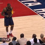 VIDEO: @KingJames jokes with a pregnant fan sitting courtside #NBAPlayoffs http://t.co/gbIoBxvytk http://t.co/u7jDKVB6gm