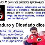 VER IMAGEN: Diosdado y Maduro aplican métodos usados por HITLER. Desde #Anzoátegui https://t.co/CWHnpg8Epy 3