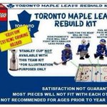 The kit that Mike Babcock brought with him to Toronto. #rebuildkit http://t.co/roTfl0vxmc