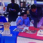 Were all winners in the I-70 BBQ Showdown during @Cardinals pregame. @adamssmokehouse and @q39kc both are excellent http://t.co/qnImMuZF87