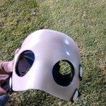 #JuventudAntoniana Con esta máscara jugará Juan Pablo Cárdenas http://t.co/GdcdhjgNgy