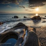 Rocky Beach Sunset by SunriseDawn http://t.co/kfwjPorboB #500px #landscapes http://t.co/F8AQOABkz8