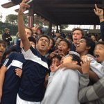 Redlands boys tennis awaiting awards ceremony. #Redlands http://t.co/iSJpL737wl