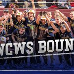 The Michigan Wolverines are headed to Oklahoma City! #WCWS http://t.co/f4Te5CO1f1
