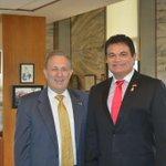 En reunión con el embajador de Estados Unidos A. Wayne le hable de la grandes bondades de Sinaloa para la inversión. http://t.co/6v3066WbAK
