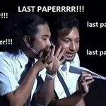 Akaun last paper!!! http://t.co/KrykuJSAeU