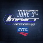 Dont Forget! @IMPACTWRESTLING moves to Wednesday nights starting June 3! #DestinationIMPACT http://t.co/rOEXXyHAdm