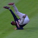 YEAUH @AaronHicks31! 💪⚾️ RT @MLB: When youre mid-somersault but want to show off the catch: http://t.co/6V4NsgDeip http://t.co/4iSnUzBKVl