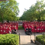 Graduation at @SierraCollege Rocklin campus http://t.co/x28g1pXoRP