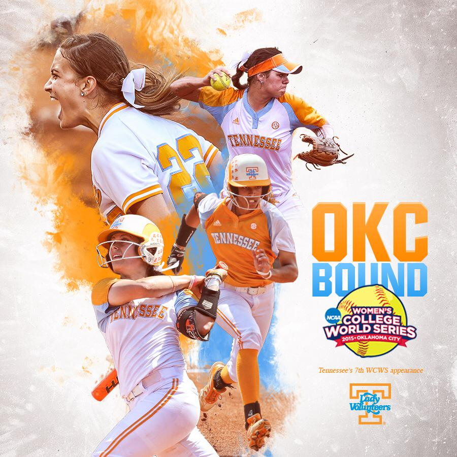 YEAH BABY!!! TENNESSEE PUCHES ITS TICKET TO THE 2015 WCWS! UT'S 7th trip to #WCWS http://t.co/EOI3HiTwYN