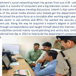 Proud of @HmLokesh and the entire @BlrCityPolice Social Media team working under @CPBlr  http://t.co/92Ty3XDO9E