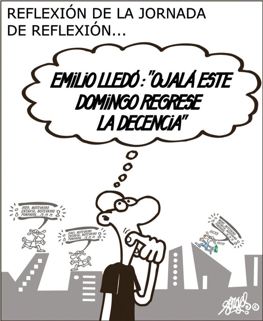 Día para REFLEXIONAR...- #forges http://t.co/hNUE0l9Q0a