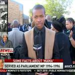 #ANN 7 reporter @RobinsonNqola gives the updates on the funeral of the Stalwart mama #RuthMompati . | LIVE DSTV 405 http://t.co/htRI9Un99a