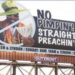 "Detroit pastors No pimpin straight preachin"" billboard has people talking @NewsDSpencerFox  http://t.co/axzDB1DMgm http://t.co/FbkWhnG7Ym"