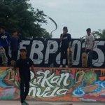 Budak2 skate dah get ready!Diorang cakap,jumpa korang @ Extreme Zone #FBP2015! #festivalbelia15 #FBP2015 @Khairykj http://t.co/NeqJ09MRiy