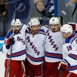 FINAL: @NYRangers (5) - @TBLightning (1) Recap: http://t.co/gVfacI3bMj Series tied 2-2 #NYRvsTBL #StanleyCup http://t.co/ePOwiD6yyj