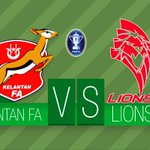 #PialaFA2015: Pasukan manakah yang bakal menjulang #PialaFA: Kelantan atau Lions XII? RT - Kelantan Fav - Lions XII http://t.co/ey2oCNnBgl