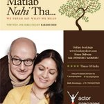 RT @actorprepares: A request to all BookMyShow audience - Please come early and collect your tickets. See you at #Merawohmatlabnahitha http…
