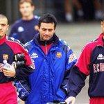 Залуухан байжээ энэ 3... Барса-д Mourinho туслах, Guardiola Enrique 2 тоглогч... Одоо Челси,Барса,Байерн-ийн боссууд http://t.co/imMa8jm3SX