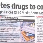 #100LiesFakeriwal Medicine prices hiked by Modi Sarkar Truth: essential, diabetis medicine prices reduced by Modi http://t.co/bwzC7tlHwB