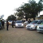 RIPRuthMompati: Dr Ruth Mompatis body arrives at the http://t.co/pOrsIpv8hn church in Vryburg, NW. #sabcnews http://t.co/P3llyahoUz