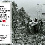 In memoria di Giovanni #Falcone, Francesca Morvillo, Vito Schifani, Rocco Dicillo, Antonio Montinari. Eroi. #23maggio http://t.co/bkaGxMlhEd