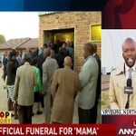 LIVE: From Vryburg is #ANN7 reporter at the #RuthMompatis funeral giving a brief background of Mompati| @DSTV 405 http://t.co/B0l9uhhtm5