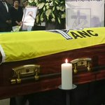 Dr Ruth Mompati funeral underway in Vryburg. #sabcnews http://t.co/HgFUdPmZ2P